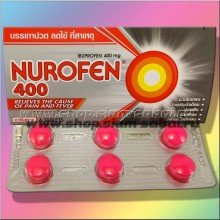 Таблетки Нурофен 400 мг 6 таблеток