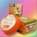 Тайская круглая зубная паста «Папайя»