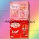 Тайские сладкие палочки Pocky - коробка из 12 мини упаковок