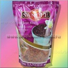 Красный длиннозернистый нешлифованный рис из Тайланда