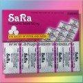 Тайский парацетамол Sara 10 таблеток