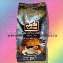 Тайский зерновой кофе Sole Cafe Black 500 грамм. Вес: 540.00  г
