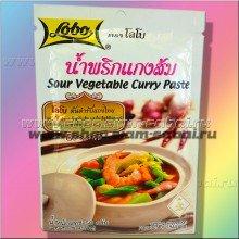 Аутентичная тайская паста для овощного карри. Вес: 60.00  г