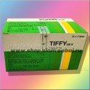 Коробка 100 таблеток TIFFY
