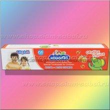 Специальная фторсодержащая детская тайская зубная паста. Вес: 70.00  г