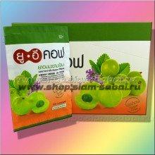 Тайские аюрведические таблетки от кашля UECOF. Вес: 10.00  г