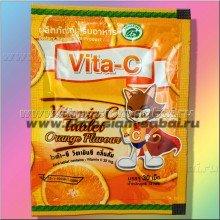 Витамин С: Аскорбинка с Апельсином 30 таблеток. Вес: 20.00  г