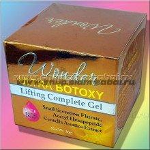 Золотистый гель для лица Ультра Ботокс с центеллой и улиточным фильтратом 30 грамм