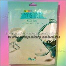 Маска для лица тканевая с Йогуртом
