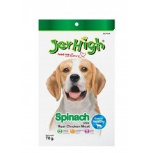 Куриные палочки со шпинатом для собак Jerhigh